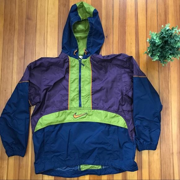 5aa6473fbf Nike Vintage Windbreaker Jacket Purple Navy S A2. M 5abd54e584b5ce233232fa29